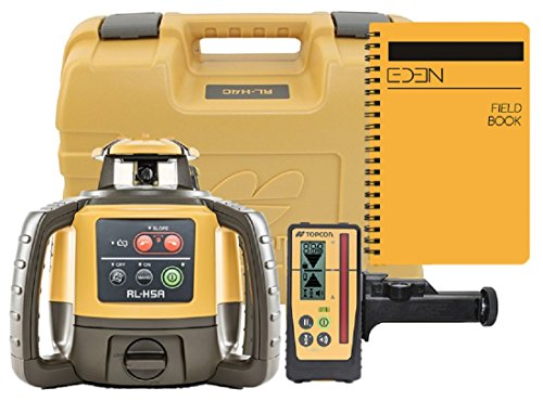 (Topcon RL-H5 Series Self Leveling Horizontal Rotary Laser with Bonus EDEN Field Book (RL-H5A Rechargeable w/LS-100D))