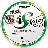東レ(TORAY) ナイロンライン 1.5号 150m 銀鱗 スーパーストロングアイサイト ライトグリーン