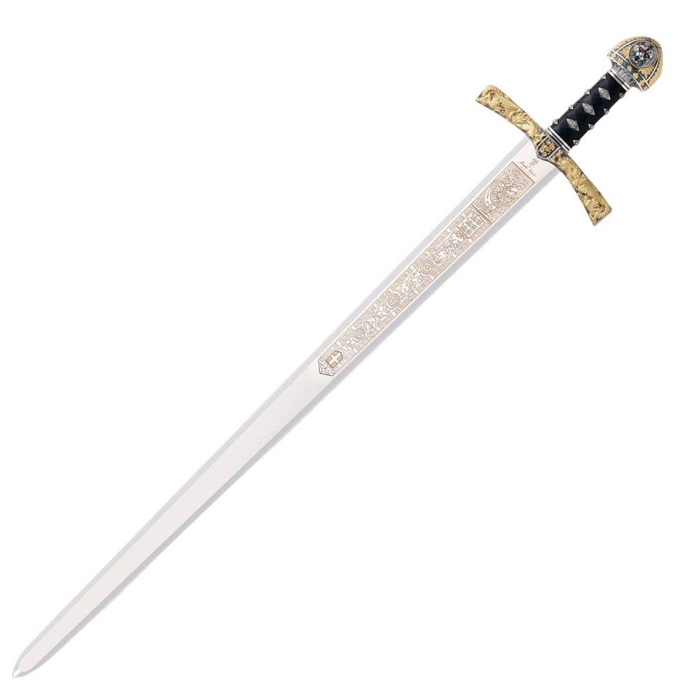 Amazon.com: Richard el Lionheart espada 420 de acero ...