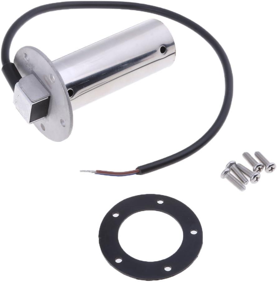 316 Stainless Steel MagiDeal Waste Water Level Sensor Buses Waste Water Sensor Sender Unit for Use in Trucks Generators or Gen set