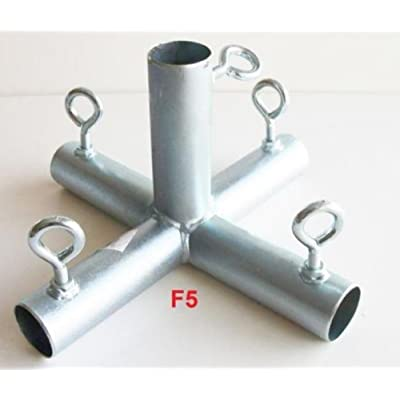 """5 way FLAT TOP CENTER 1"""" CANOPY FITTING (F5B) ~ 1"""" pipe : Garden & Outdoor"""