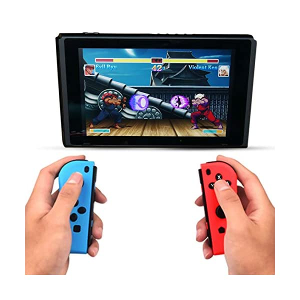 Switch Wireless Controller Joypads Chasdi. Pair of Remote Motion Controllers with Micro USB Charging Cable & Joy-Con… 5