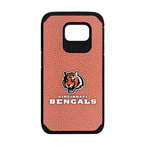 NFL Cincinnati Bengals Classic Football Pebble Grain Feel Samsung Galaxy S6 Case, Brown
