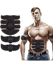 MATEHOM Abs Trainer، EMS محفز العضلات، آب حزام، جهاز تمارين اللياقة البدنية والتدريب للرجال والنساء