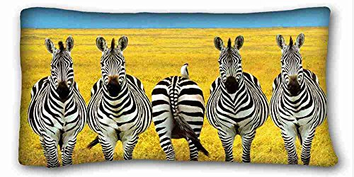 Custom ( Animals zebra whether the original Booty savannah ) Pillow Covers Bedding Accessories Size 20