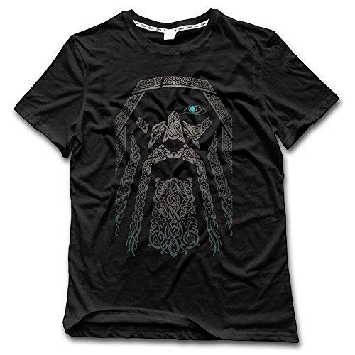 Odin Eye In The Dark Cool Mens T Shirts