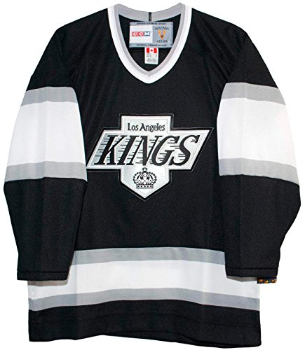 Vintage Los Angeles Kings Black Jersey (Medium)