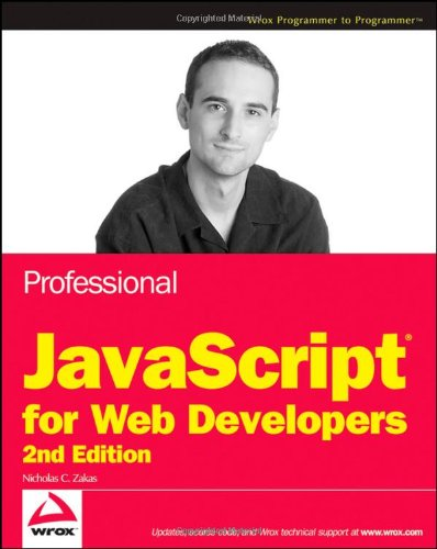Professional JavaScript for Web Developers, 2nd Edition Front Cover