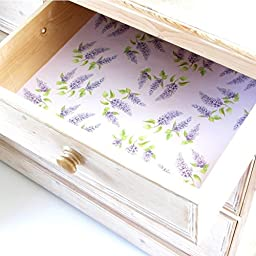 The Master Herbalist Five Lilac Scented Drawer Liners
