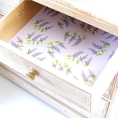 The Master Herbalist 5 Lilac Scented Drawer Liners 2 Pack