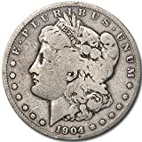 1904 S Morgan Dollar VG $1 Very Good