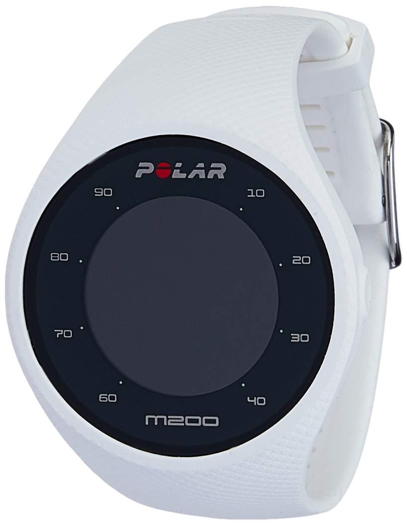 Polar M200 Orologio GPS con Cardiofrequenzimetro Integrato, Monitoraggio Attività Fisica e Sonno, Unisex – Adulto, Bianco, M/L product image