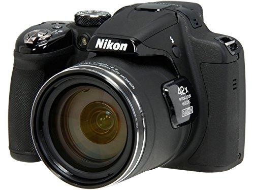 Nikon デジタルカメラ クールピクス Coolpix P530 BK ブラック 1605万画素 42倍ズーム
