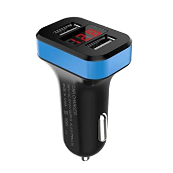 Dual USB 4,8 A cargador de coche rápido cargador de coche de ...