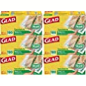 6-Pack Glad Zipper Food Storage Sandwich Bags (100 Count)