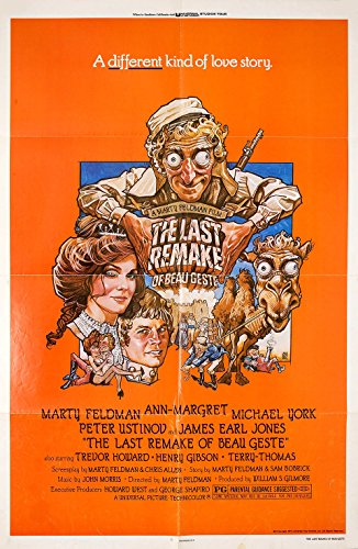 The Last Remake of Beau Geste 1977 U.S. One Sheet Poster