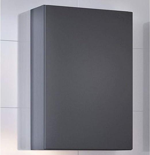 Hängeschrank Bad-Schrank Wandschrank in steingrau Küche Badezimmer Bad-Möbel