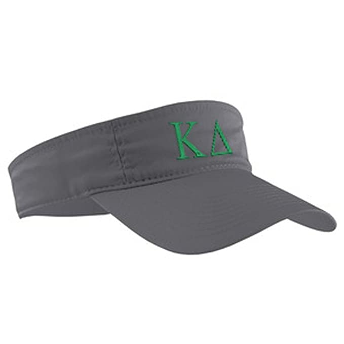 Greek Letter Before Kappa.Kappa Delta Greek Letter Visor Charcoal W Lime Green Thread