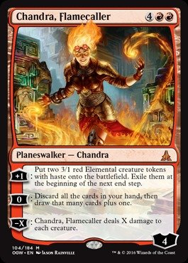 Magic: the Gathering - Chandra, Flamecaller (104/184) - Oath of the Gatewatch