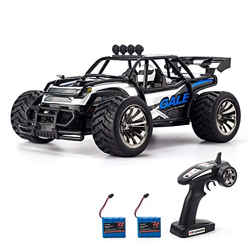 KOOWHEEL RC Car Off Road Cars 2.4GHz Radio Remote Control Truck Monster 1:16 Scale 2WD High Speed Crawler USB Charger Car with 2 Rechargeable Battery