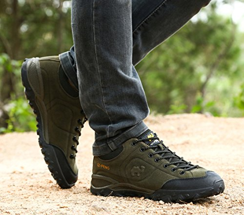 Army Women's Hiking Green Unisex Breathable SK Studio Women Shoes HqzxUq4Y