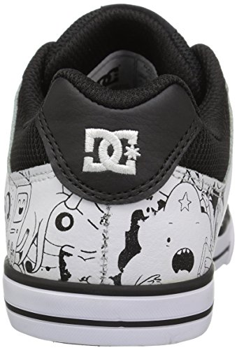 DC Jugend reine Skate Schuhe, EUR: 28, Black/White Print