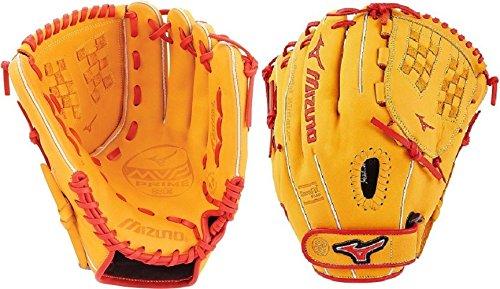 (Mizuno MVP Prime SE Fastpitch GMVP1200PSEF6 Infield Model Gloves, Cork/Red, 12