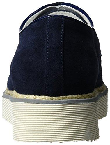 Bogner Oslo 14b, Zapatos de Cordones Derby para Mujer azul (navy)