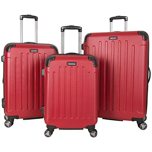 (Kenneth Cole Reaction Renegade 8-Wheel Hardside Expandable 3-Piece Set: 20