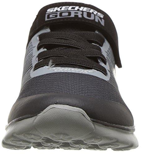 Gris Skechers charcoal black Zapatillas Run Niños 400 kroto Go Ccbk Para wrw4P0