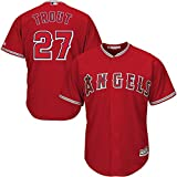 Mike Trout Los Angeles Angels Majestic MLB Youth Boys 8-20 Jersey Red Alternate