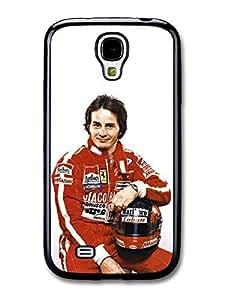 AMAF ? Accessories Gilles Villeneuve With Helmet Portrait case for Samsung Galaxy S4