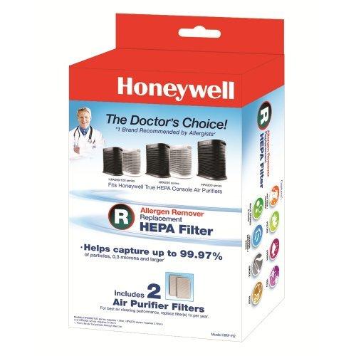 Parcel of Three Honeywell Filter R True HEPA Replacement Filter - 2 Packs, HRF-R2