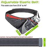PYFK Running Belt Hydration Waist Pack with Water
