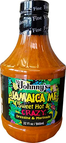 - Johnny's Sweet Hot & Crazy Dressing, 32 Ounce