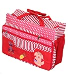 Kuber Industries Mama'S Bag, Baby Carrier Bag, Diaper Bag, Travelling Bag -Folding Pattern, Multicolor