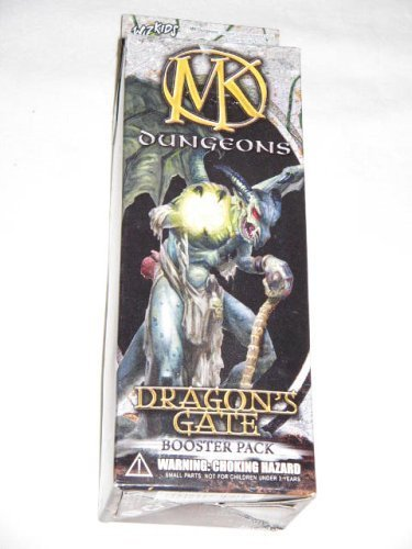 Wizkids Mage Knight Dungeons Dragon's Gate Booster Pack (Mage Dragons Knight)