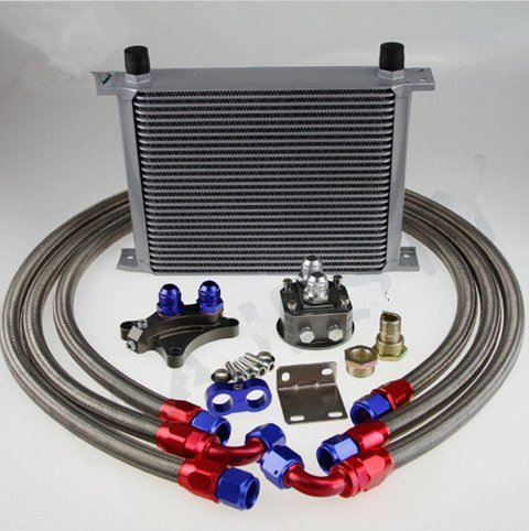 GOWE 28 ROW OIL COOLER KIT FOR Silvia S13 S14 S15 180SX 200SX 240SX SR20DET