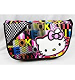 Hello Kitty Color Block Messenger Bag Adult Size
