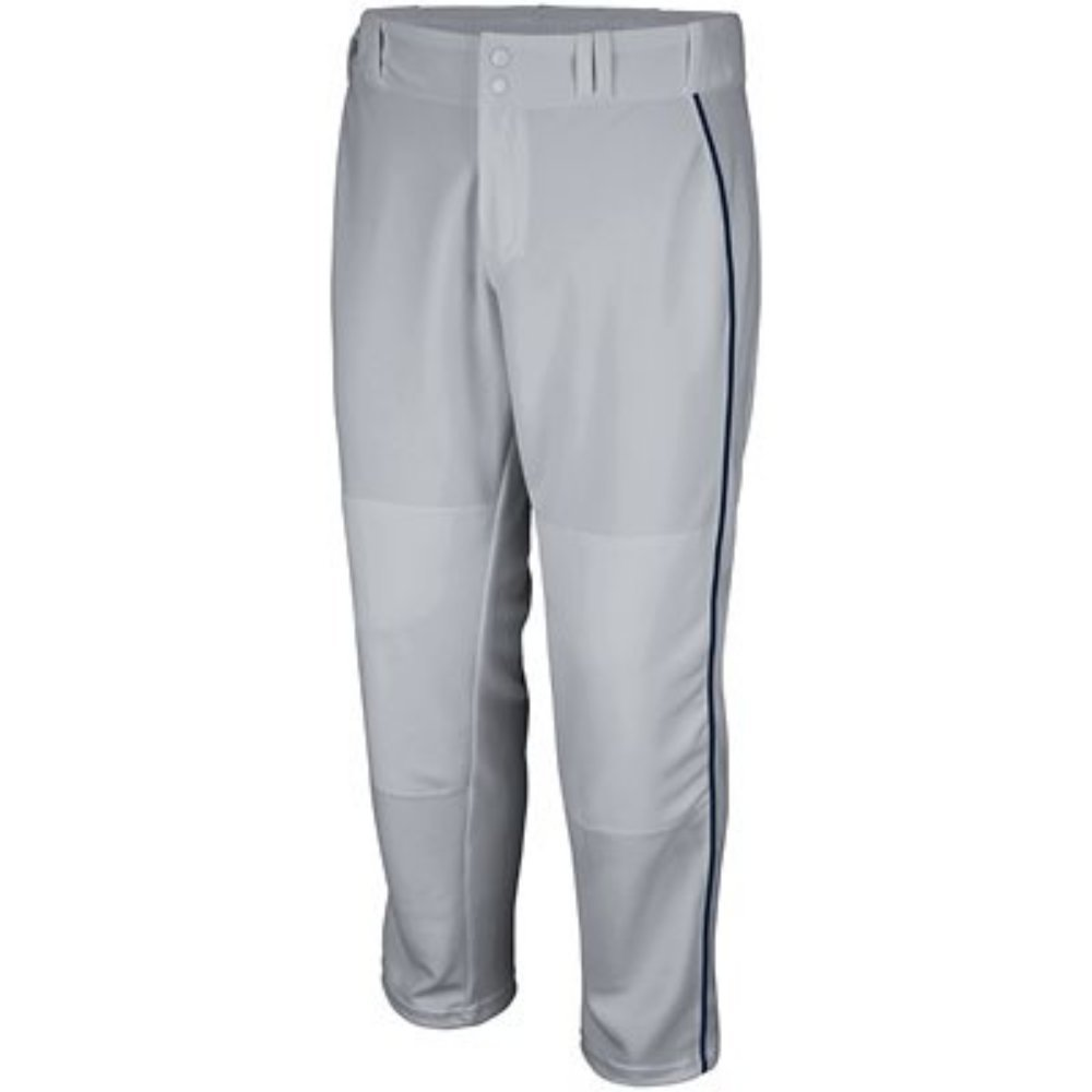 .Majestic Athletic PANTS メンズ B075722WSD X-Large|Grey W/ Navy Piping Grey W/ Navy Piping X-Large