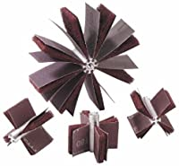Merit Abrasive Products 08834154111 - Bore Polisher - 120 Grit, Max Bore 2-1/2 in dia, Min Bore 2-1/8 in dia