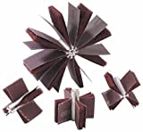 Merit Abrasive Products 08834154193 - Bore Polisher - 120 Grit, Max Bore 1 in dia, Min Bore 5/8 in dia, Pack of 15
