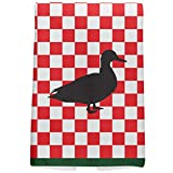 Country Kitchen Checkerboard Duck All Over Hand Towel