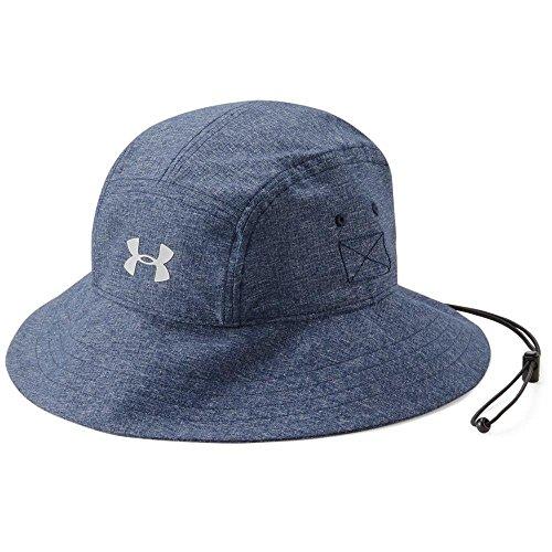Under Armour Men's ArmourVent Warrior Bucket 2.0 Hat, Graphite (040)/Black, One Size