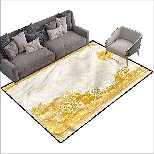 - Carpet for Living Room Lantern,Japanese Buildings 60