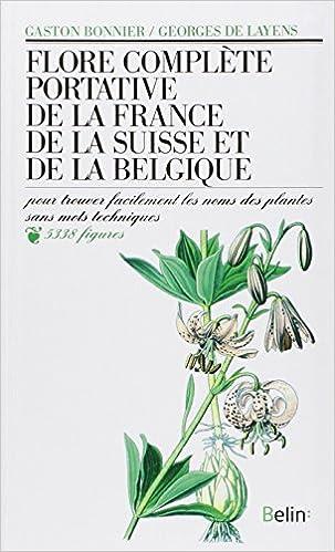 Carte Belgique Complete.Flore Complete Portative De La France De La Suisse Et De La