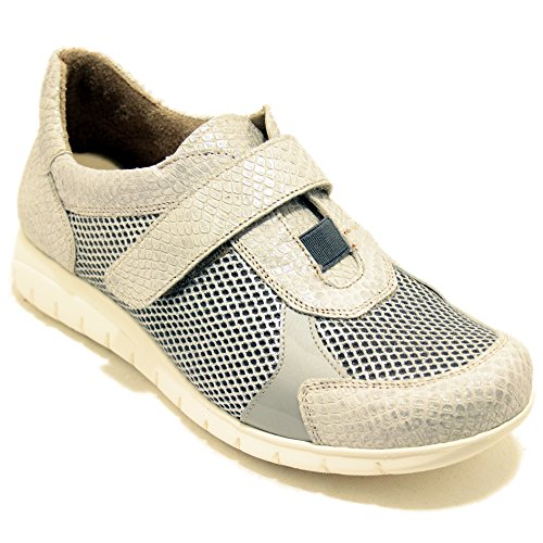 Bali34 Ligeros Sport Zapatos Con Velcro Tamicus Blanco TlKJc3F1u5