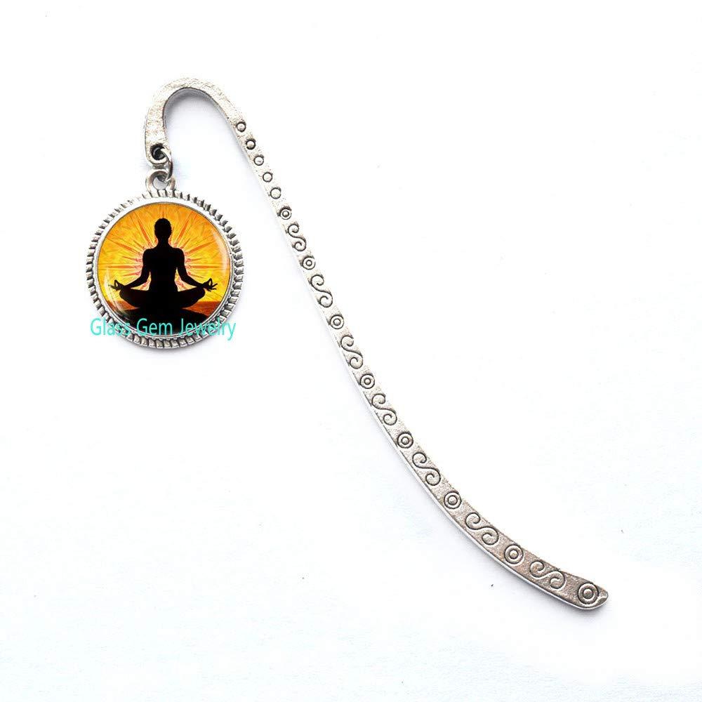 Marcador de libros para meditación de yoga, regalo de ...
