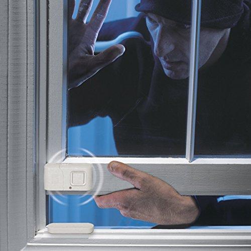 ge personal security window door alarm 2 pack diy home. Black Bedroom Furniture Sets. Home Design Ideas