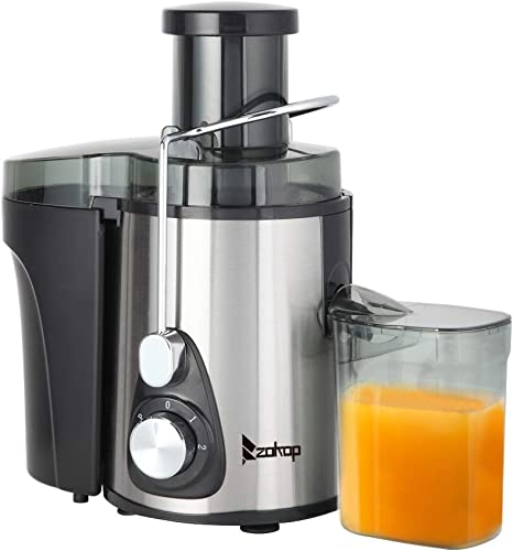 Electric Citrus Juicer Machine Apple Lemon Squeezer 1L Large Stainless Steel Fruit Juice Maker